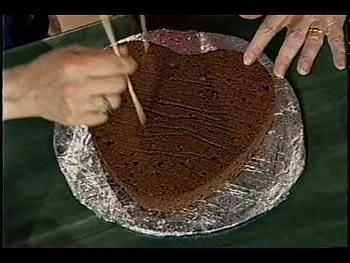 Valentines Chocolate Cake – part 2