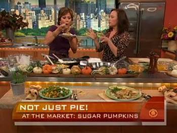 At the Market: Sugar Pumpkins