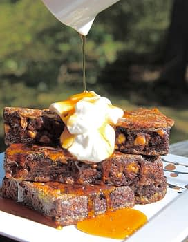 Toffee Chocolate Chip Banana Bread French Toast