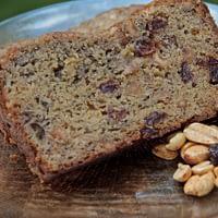 banana-bread-with-peanuts-raisins