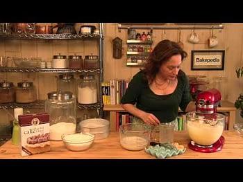 How to Make a White Cake