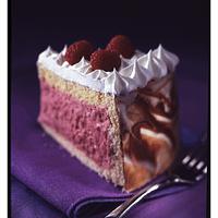 chocolate-raspberry-mousse-cake