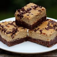 Mocha Chip Cheesecake brownies