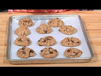 Oatmeal Chocolate Chip Cookies With Butter & Rolled Oats